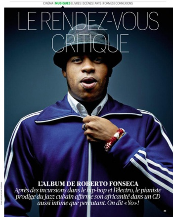Roberto Fonseca in the TELERAME Magazine