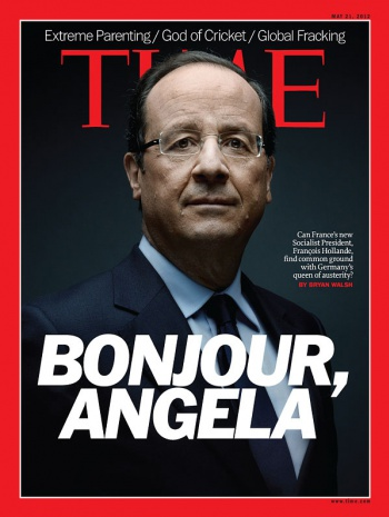 Francois Hollande in the NEW YORK TIMES Magazine