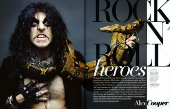 ROCK'N'ROLL HEROES in the MARIE CLAIRE 2 Magazine