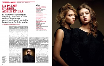 Portfolio of Cannes 2013 for the TELERAMA Magazine