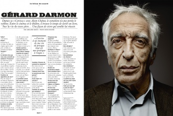 Gerard Darmon in the LUI Magazine