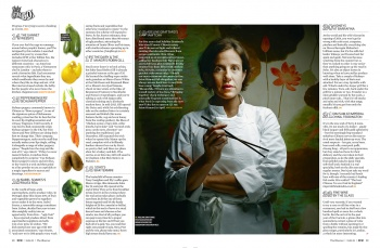 Adeline Grattard in THE OBSERVER Magazine