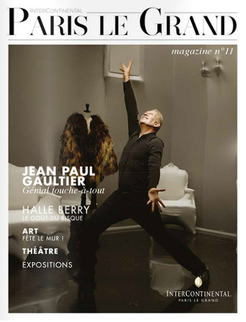 Jean Paul Gaultier dans international Paris Le Grand Magazine
