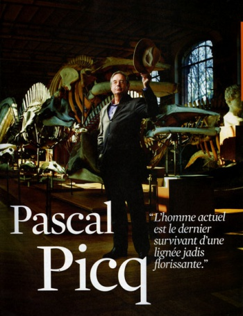 Pascal Picq in the TELERAMA Magazine
