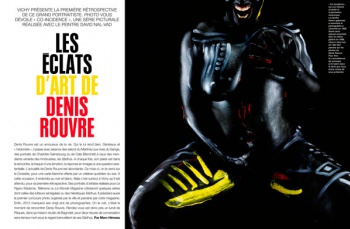 Portfolio in the french magazine PHOTO